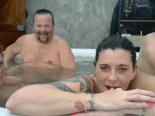 Dutch Hot Tub Swingers 3