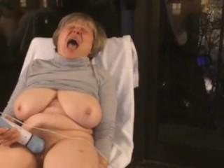 BEST mature 12 orgasms hotel window curvy exhibitionist MarieRocks