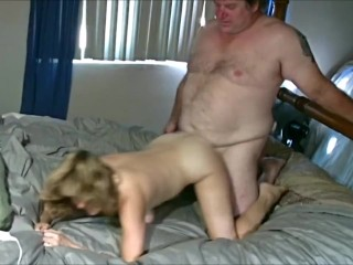 Teen get nailed by old may