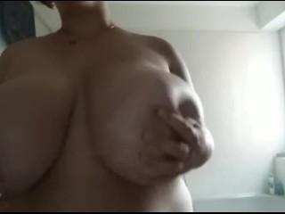 Huge Tits! She gets bigger and bigger! 38KK and growing!