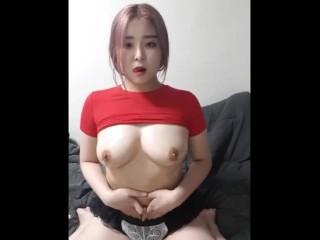 Korean BJ ! Show cam with Super nice tit ! Hot tit 040420.0552