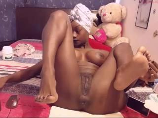Sexy Black Girl on Webcam