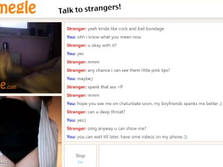 love being a slut on omegle for one of my fans