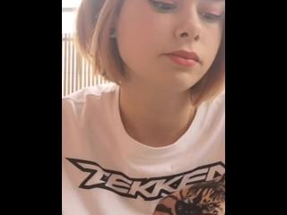 Smoking Fetish | Cute Smoking Teen Girl